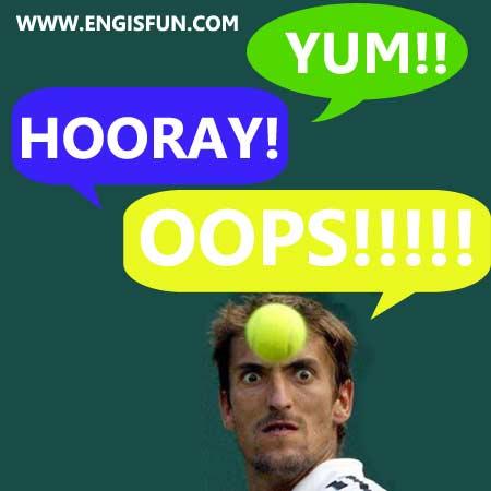 คำอุทานภาษาอังกฤษ