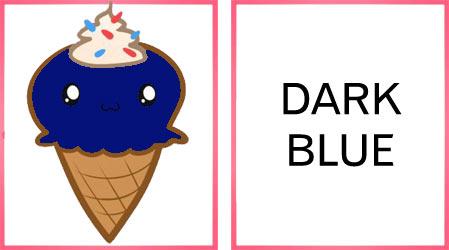 สีน้ำเงินเข้ม ภาษาอังกฤษ