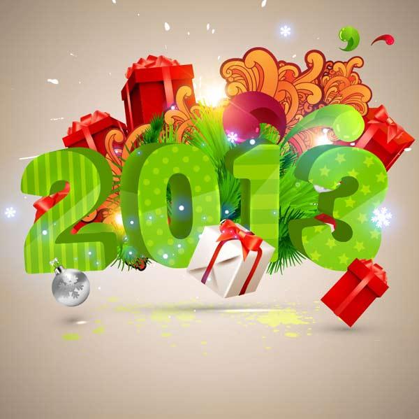 คำอวยพรปีใหม่ ภาษาอังกฤษ 2013