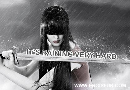 ตอนนี้ฝนตกหนักมาก
