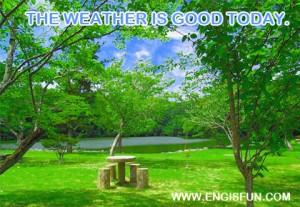 แสดงความคิดเห็นเกี่ยวกับสภาพอากาศ